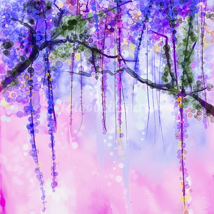Фотообои Панно Летние цветы 40