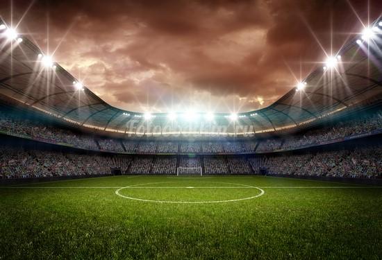 Фотообои Стадион футбольный