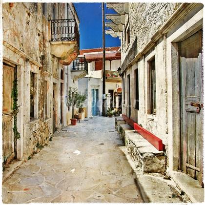 Фотообои Старая улочка