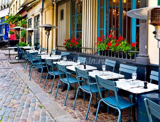 Фотообои Кафешка на улице в Италии