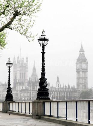 Набережная в Лондоне