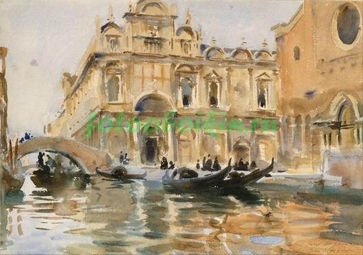 Фотообои Венеция канал