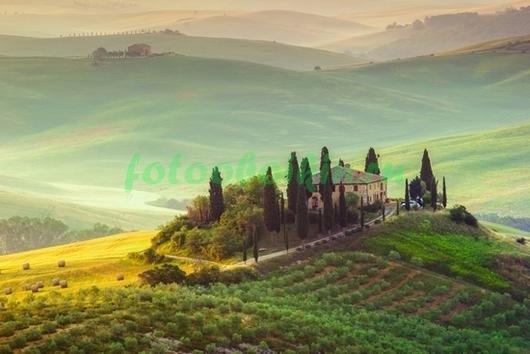 Фотообои Холмы в Италии