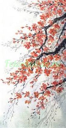 Фотообои Ветвистая сакура