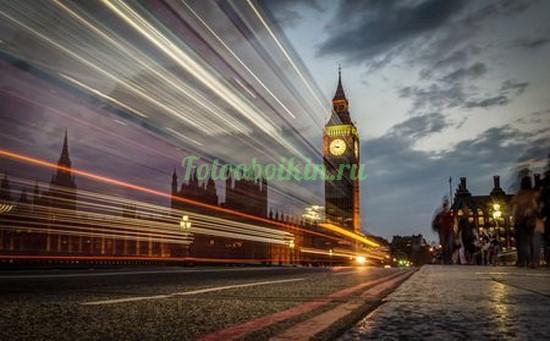 Фотообои Лондон вечерний