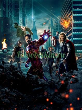 Фотообои Мстители разрушение
