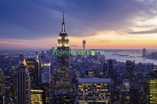 Фотообои Многогранный Нью-Йорк