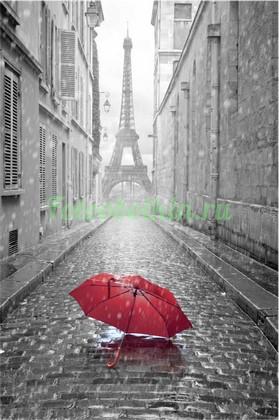 Фотообои Красный зонтик