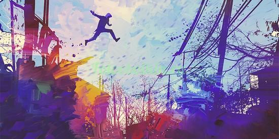Фотообои Прыжок