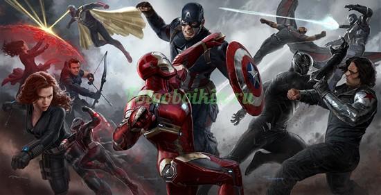 Борьба Мстители Марвел