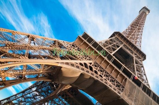 Фотообои Часть Эйфелевой башни