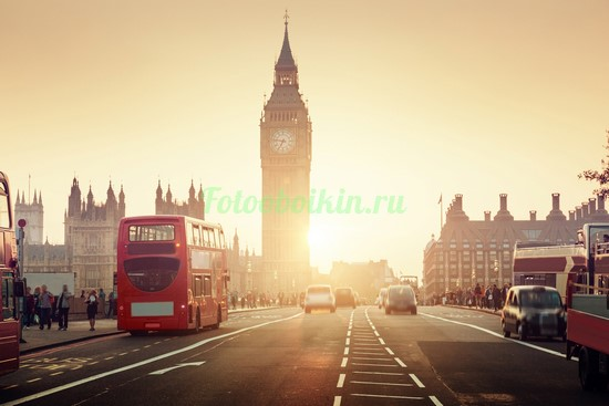 Фотообои Закат солнца