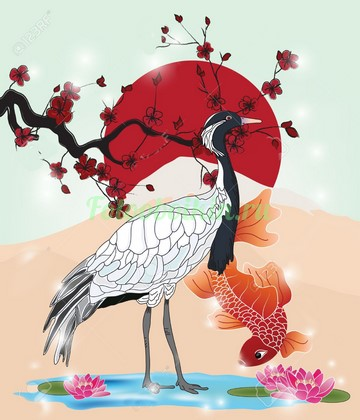 Фотообои Японские символы