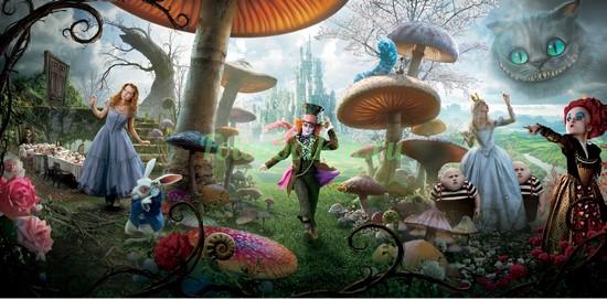 Фотообои Алиса в стране чудес