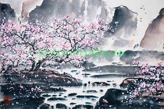Фотообои Кристальный водопад