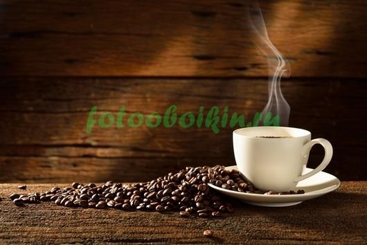 Фотообои Белая чашка кофе