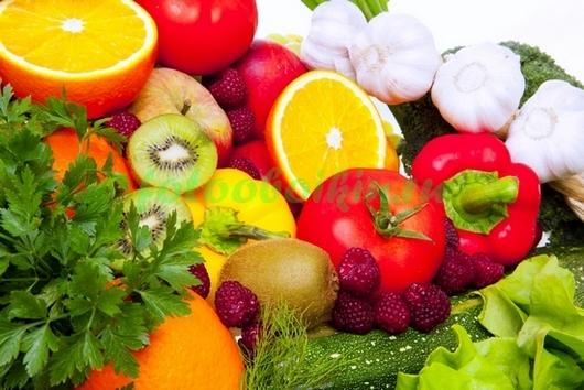 Фотообои Овощи и ягоды