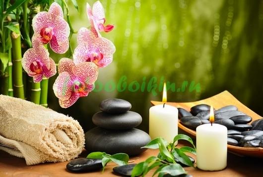 Фотообои Натюрморт с орхидеей
