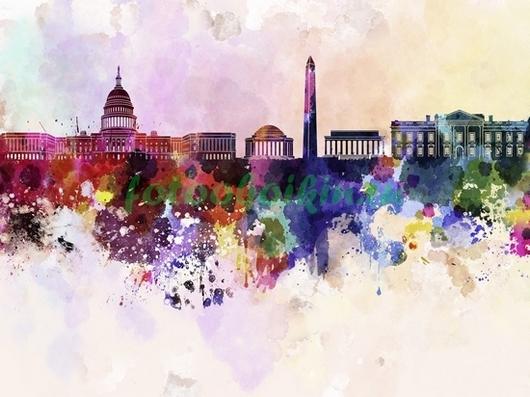 Фотообои Вашингтон
