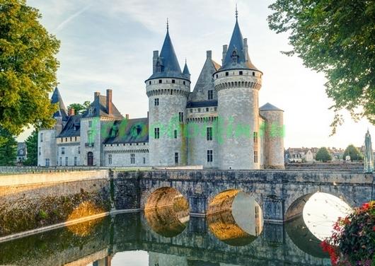 Фотообои Замок Сюлли-сюр-Луар