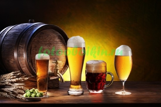 Фотообои Пиво и хмель