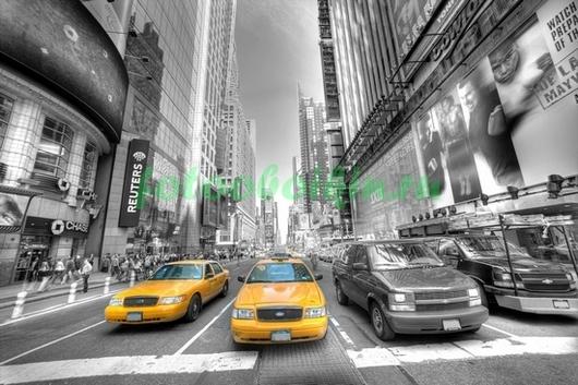 Фотообои Такси в Нью-Йорке