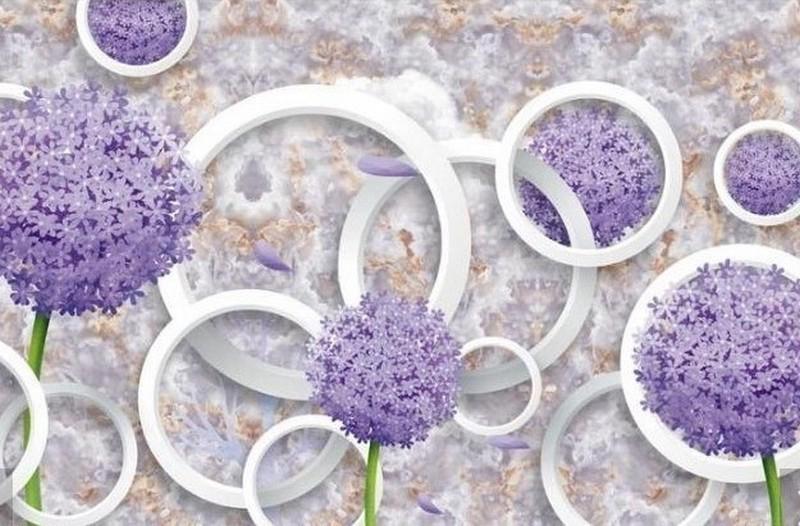 Фотообои Фиолетовые