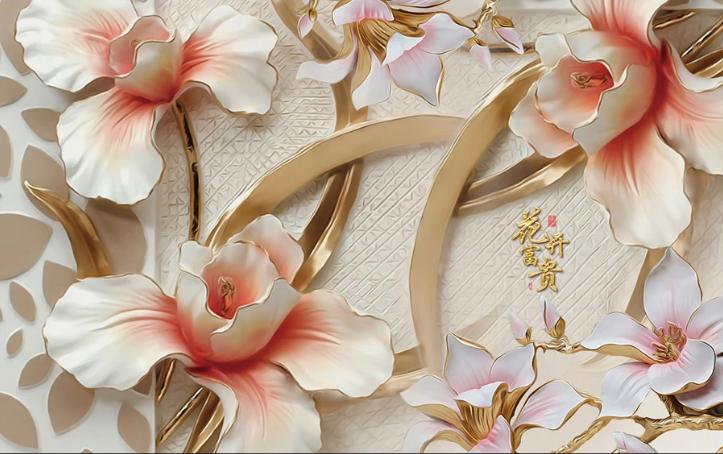 Фотообои Цветы лилии