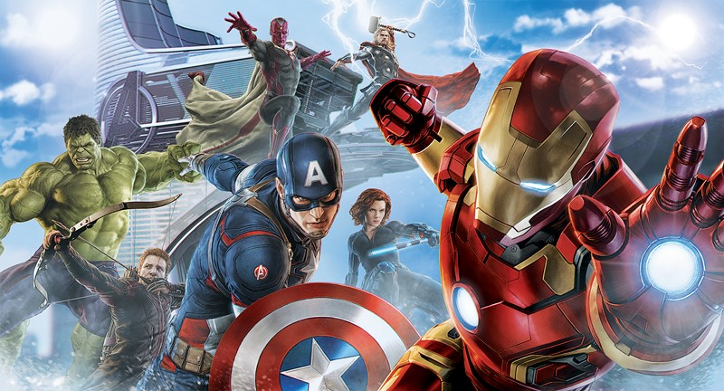 Марвел супергерои