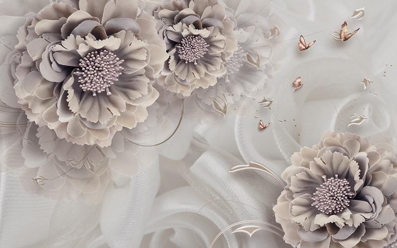 Фотообои Большими цветами