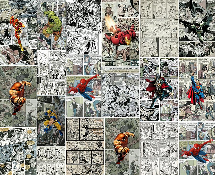 Комиксы на стену