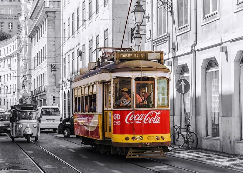 Фотообои Трамвай