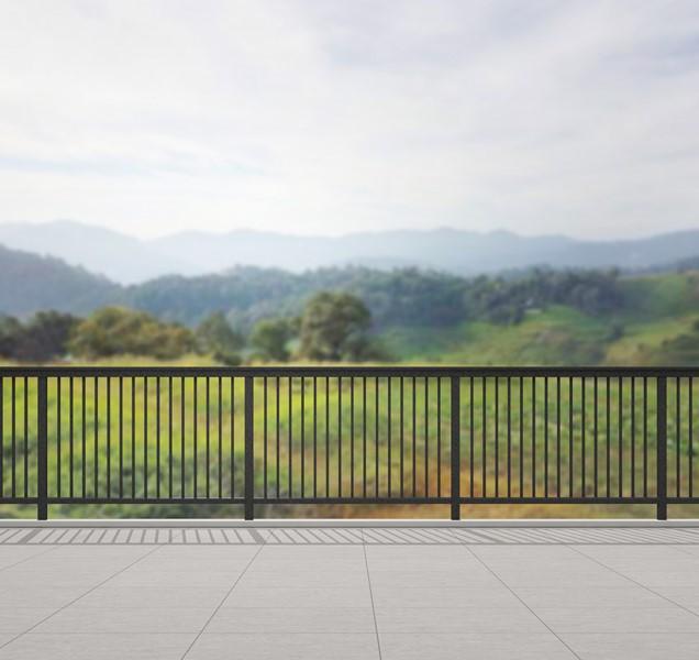 Вид с балкона террасы