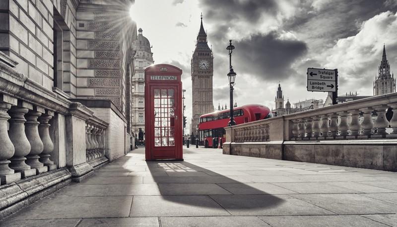 Фотообои Лондон будка