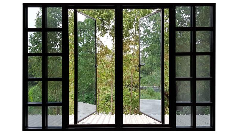 Фотообои Распахнутое окно