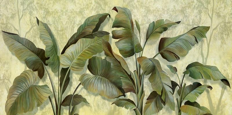 Фотообои Листья зеленые