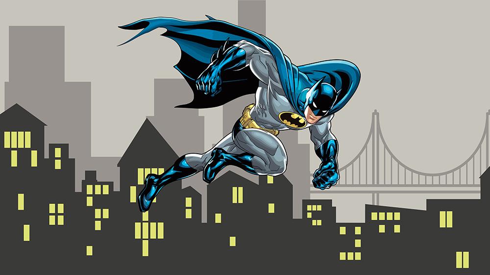 Фотообои Бэтмен рисунок