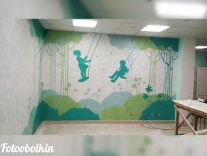 Фотообои для детской больницы