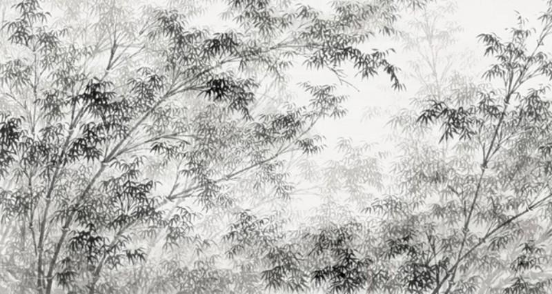 Фотообои Ветки черные