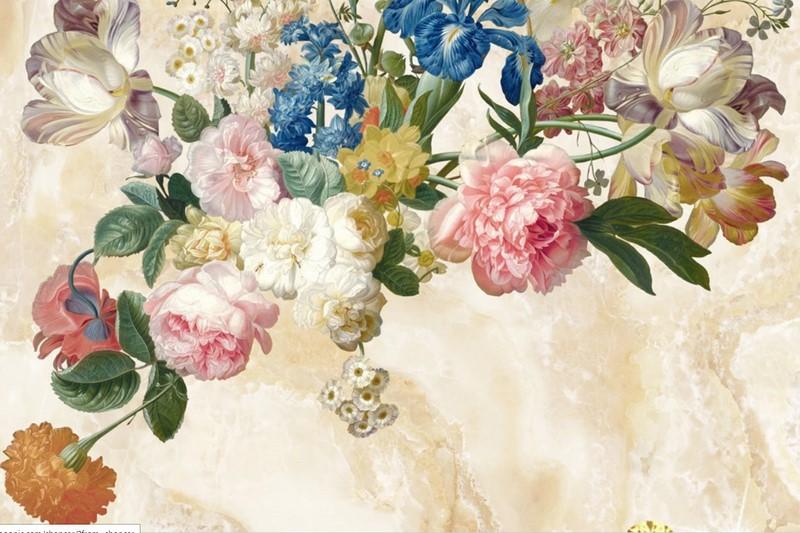 Фотообои Цветы пионы