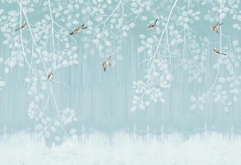 Фотообои Ветки и птицы