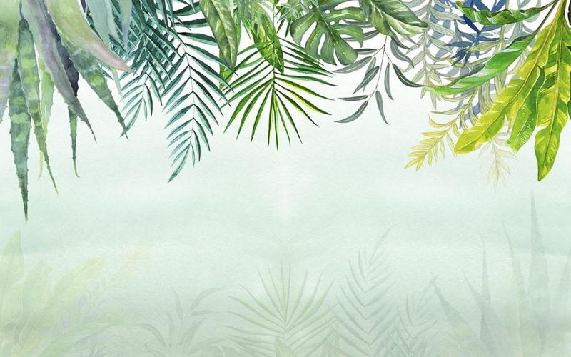 Фотообои Ветки пальм