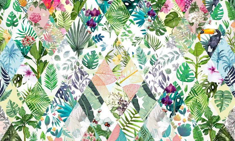 Фотообои Тропические цветы