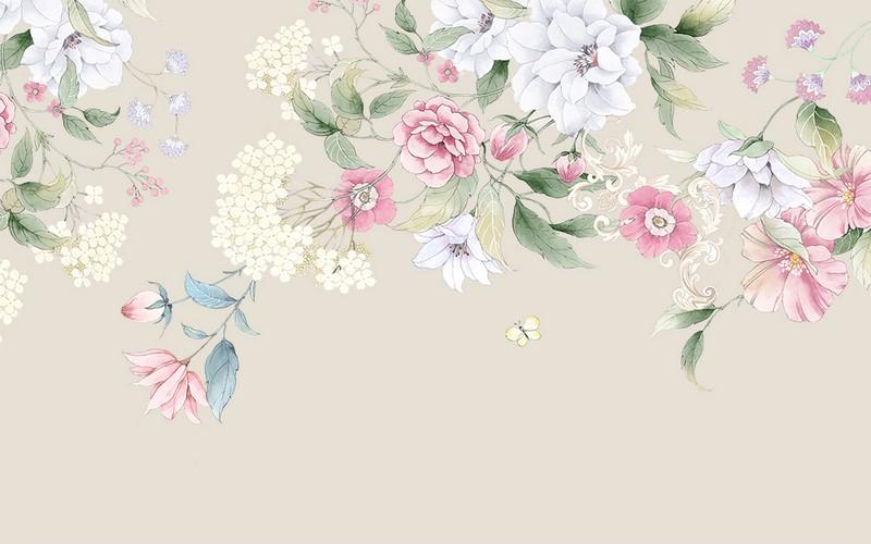 Фотообои Цветочки
