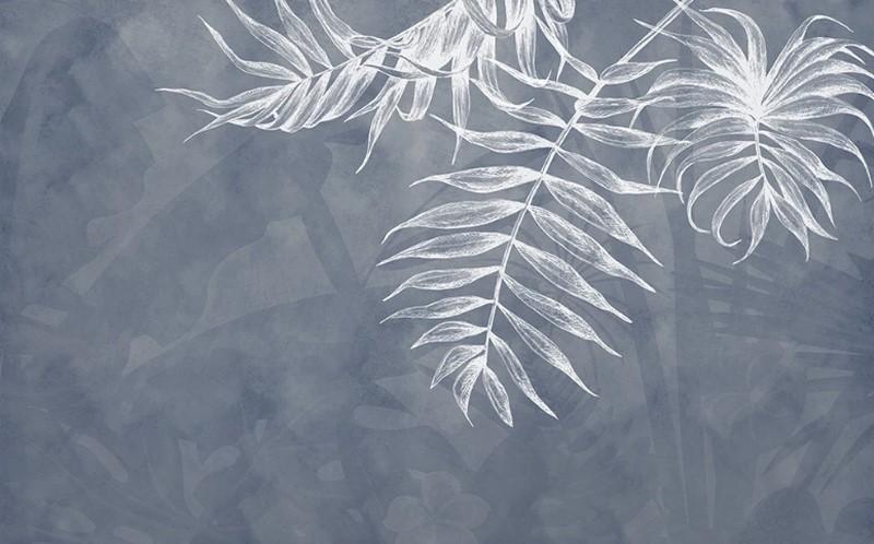 Фотообои Ветка пальмы на фоне