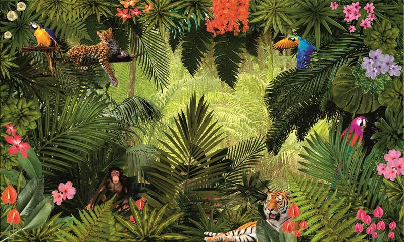 Фотообои Тропический лес