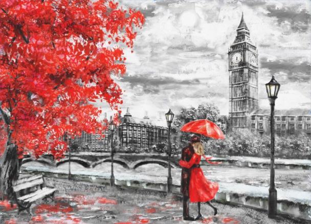 Фотообои Лондонский поцелуй