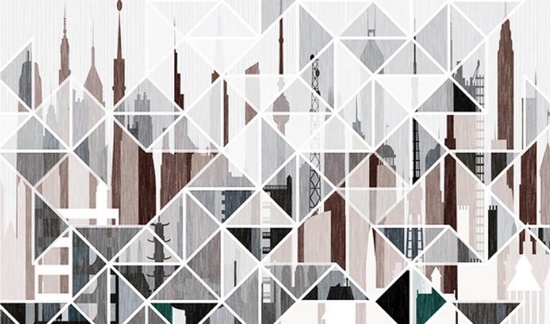 Фотообои Абстракция небоскребы
