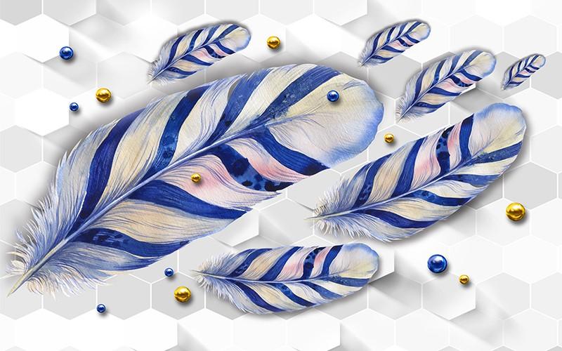Фотообои Красивые перья