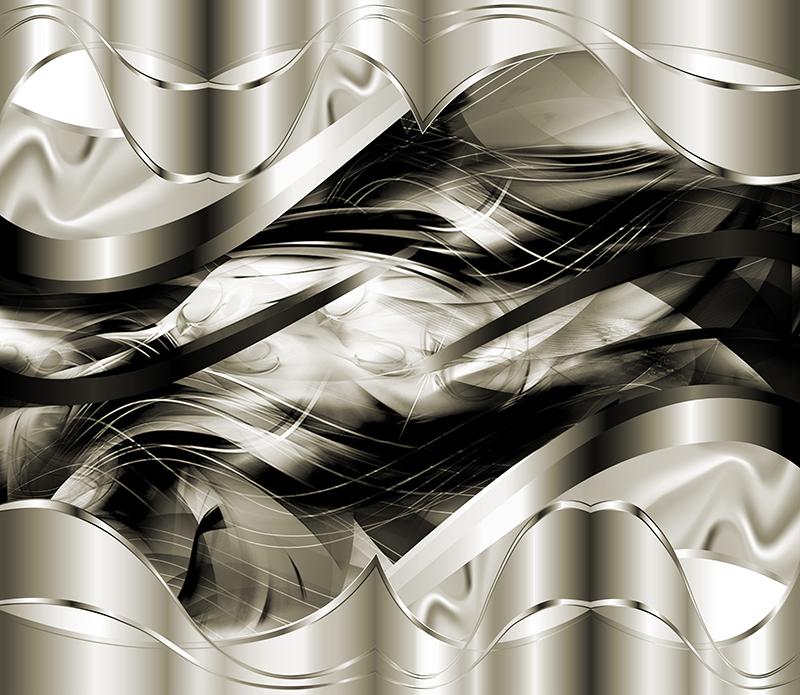 Фотообои Дизайнерские обои волны